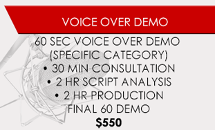 Voice Over Demo - Coupon
